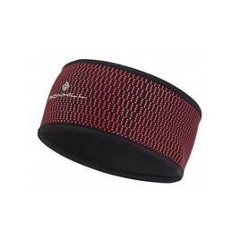 e0304e04fc9 Ronhill Wind-Block Unisex Running Headband in Black Azalea